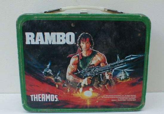 Ultima lonchera de metal Rambo