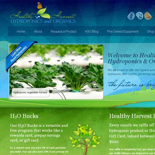 Halthy Harvest Natural Foods Facebook