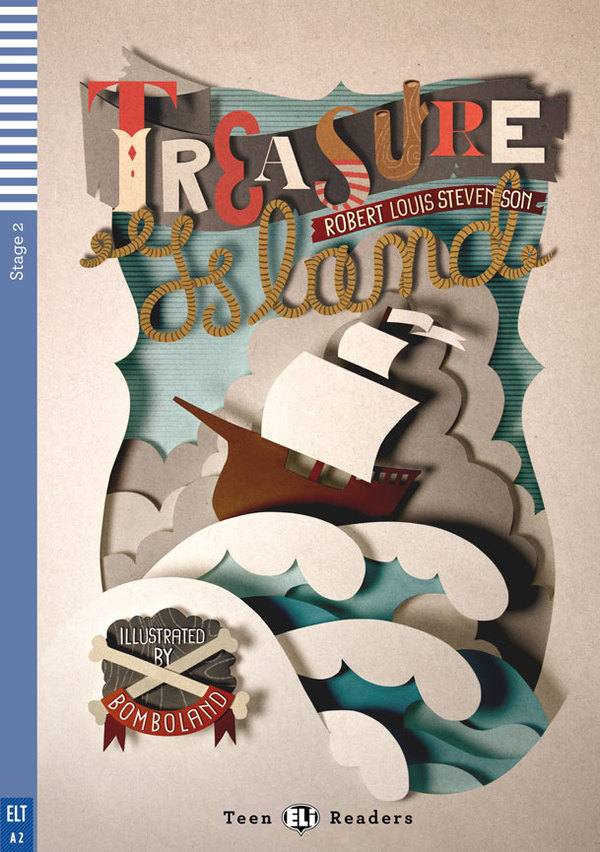 Book Cover Design Craft : Bomboland libro treasure island