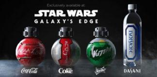 Coca-Cola y Disney diseñan nuevas botellas para el parque temático Star Wars: Galaxy Edge