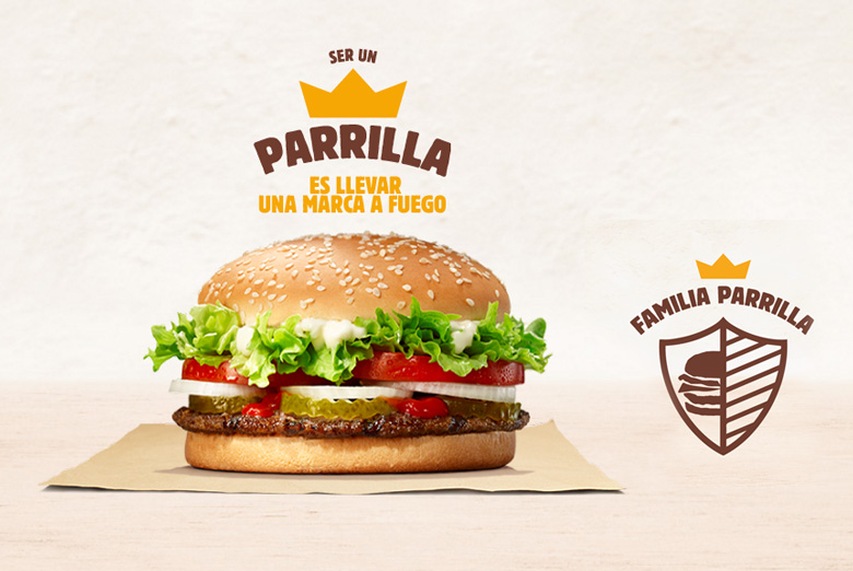 Burger King Argentina Parrilla