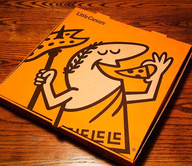 Pizza Little Caesars Con Nueva Imagen Del Personaje