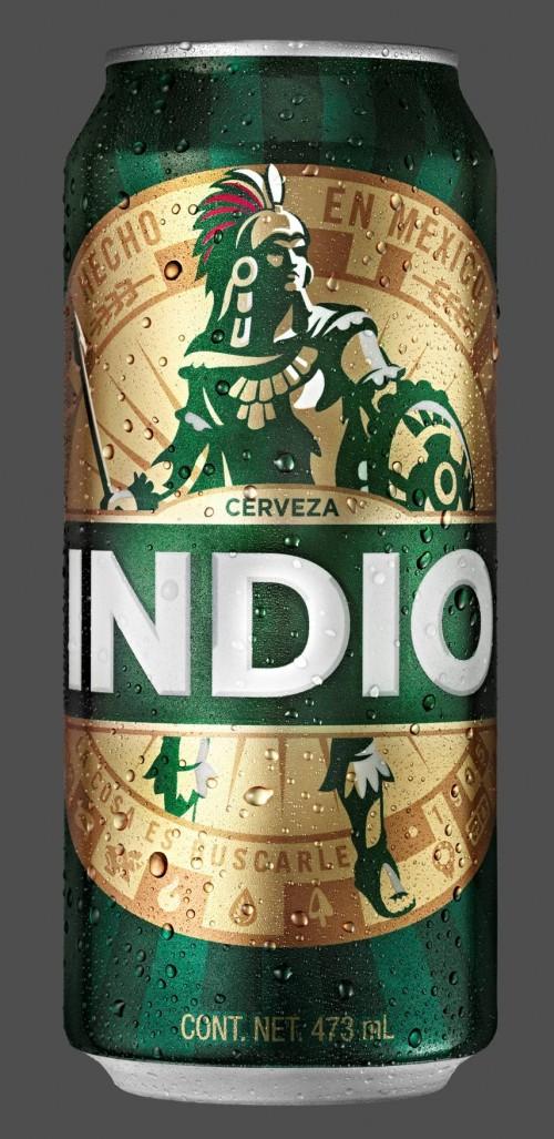cerveza indio redise241o