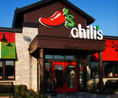 La cadena de restaurantes chilis cambia su identidad for Fachada para restaurante