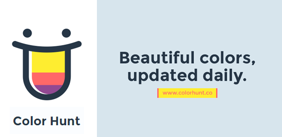 Color Hunt: Un sitio web para crear paletas de colores