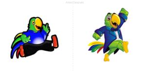 Confitería El Loro lanza nuevo diseño de su mascota y logotipo