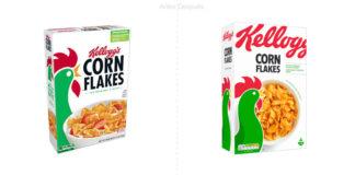 Kellogg 's lanza nuevos diseños de empaques para sus cereales en Europa