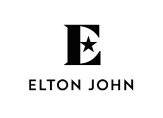 Elton John por George Adams