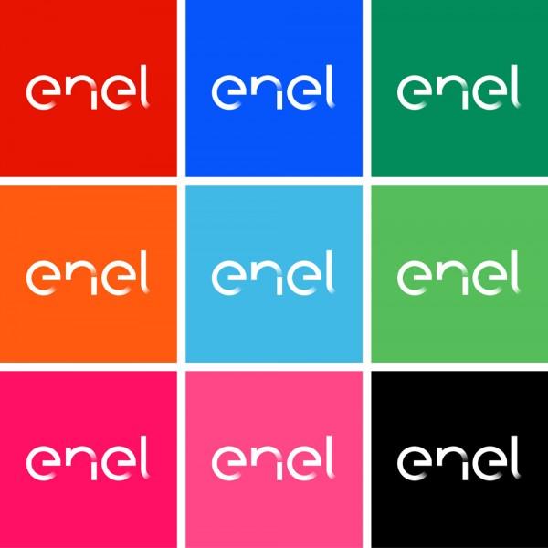 enel compa241237a de electricidad y gas con nuevo logo