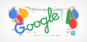 Google celebra 18 años de ser el gigante de la internet