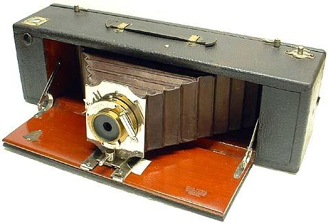Primera cámara panorámica.