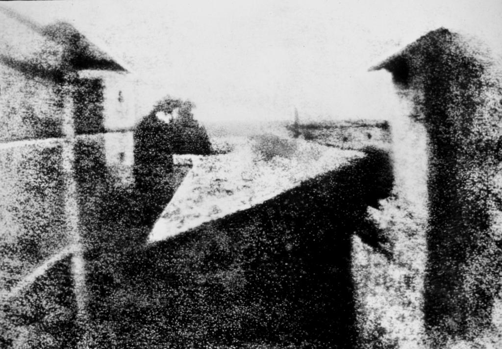 Primera fotografía de la historia(Borgoña, Francia).