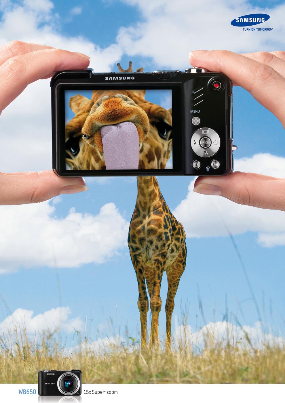 Samsung Wb650 15x Super Zoom El Poder De Las Ideas