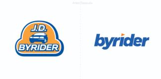 byrider nueva identidad para la empresa dedicada a la venta de automóviles en USA