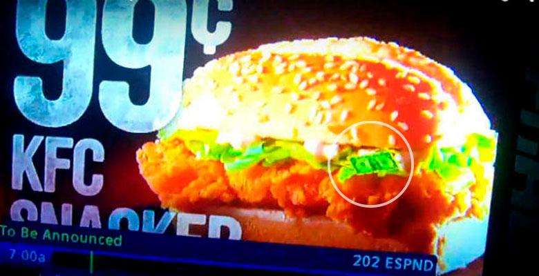 Resultado de imagen de fkc dolar publicidad subliminal