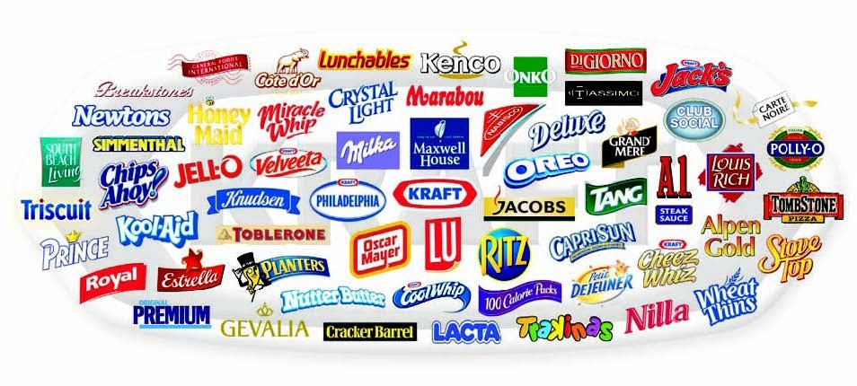 Kraft foods presenta mondelez for Cuisine kraft