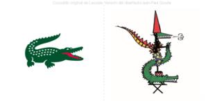 Lacoste muestra su nuevo logo creado por Jean-Paul Goude para una colección especial