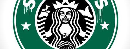 Logos Famosos Se Convierten En Zombies