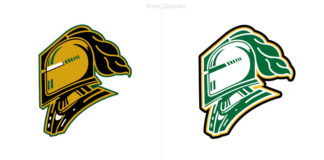 london knights: equipo de hockey, nuevo logotipo temporada 2019-2020