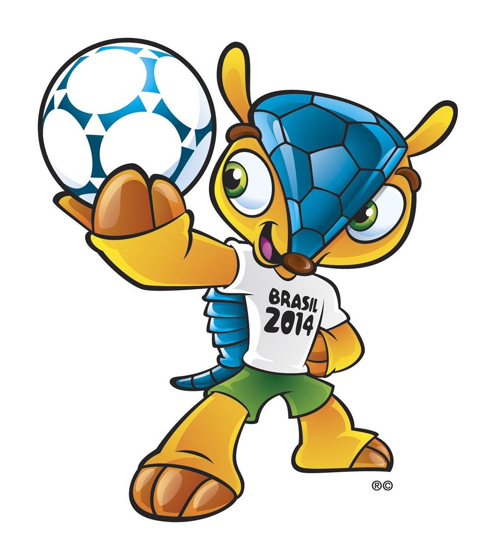 La nueva mascota y balón de Brasil 2014