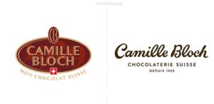 El Chocolate suizo Camille Bloch simplifica su identidad