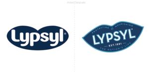 Nuevo logo para Lypsyl, la famosa marca sueca de productos para el cuidado de los labios
