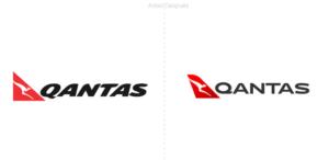 Qantas Airways puso en marcha un nuevo logotipo