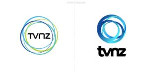 La televisión en Nueva Zelanda presenta diferentes logos para sus canales