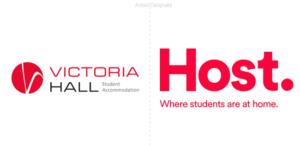El servicio de alojamiento para estudiantes Victoria Hall en Gran Bretaña pasa a llamarse Host