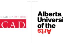 alberta university of the Arts, nuevo nombre y logotipo.