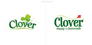 La margarina Clover rediseña su logo en el Reino Unido