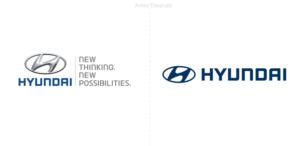 Nueva identidad global para el famoso fabricante de autos Hyundai