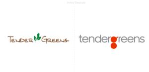 Pentagram ha realizado la nueva identidad del restaurante Tender Greens