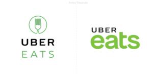 La aplicación de Uber Eats le dice adiós al tenedor en su nuevo logotipo