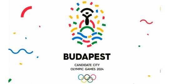 Budapest Posible Sede Logo Candidatura Para Juegos Olimpicos 2024