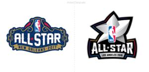 NBA: Logo del juego de las estrellas 2018 que se realizará en Los Ángeles