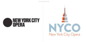 La opera de New York presenta un nuevo logo en su reapertura