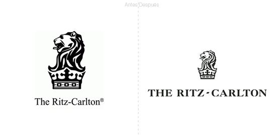 Nuevo logo de los hoteles the ritz carlton for Nombres de hoteles famosos