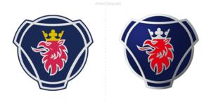 Nuevo logo para el fabricante de camiones sueco Scania