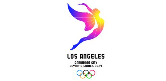 Los Angeles Posible Sede Logo Candidatura Para Juegos Olimpicos 2024