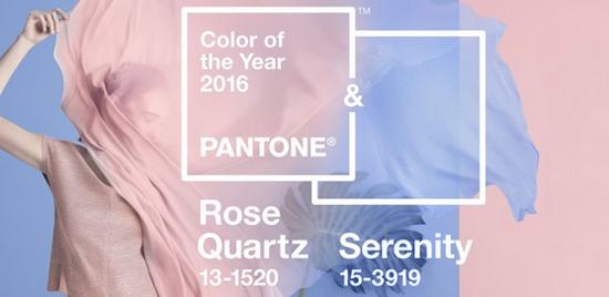 Pantone Ha Seleccionado Por Primera Vez Dos Colores Para Su Galardón Del Color Año 2016