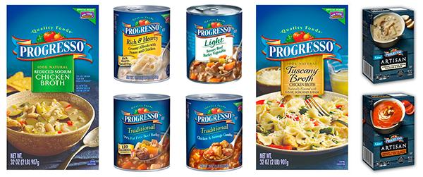 La famosa marca de comida enlatada progresso se hace m s for Comida mas famosa de francia