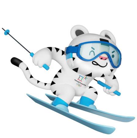 Identidad De Los Juegos Olimpicos De Invierno Pyeongchang 2018