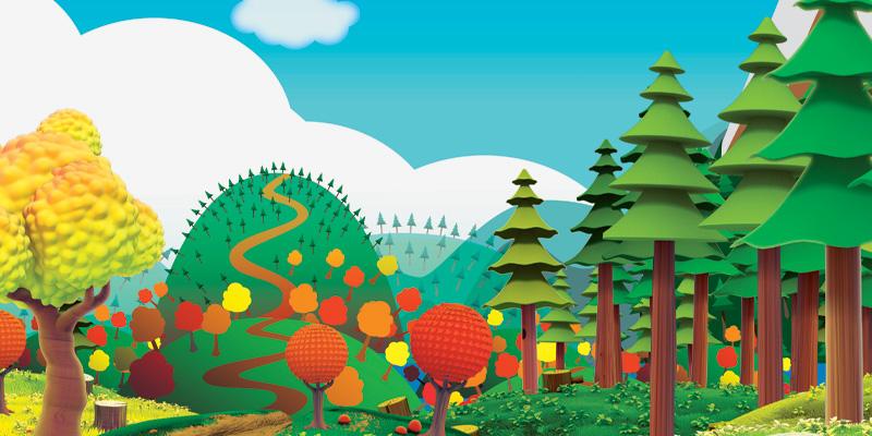 Sprett: empaque, el bosque de las caricaturas | El poder de las ideas