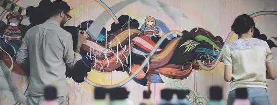 supakitch & koralie  graffitti